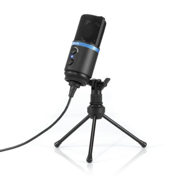 IK Multimedia iRig Mic Studio portable condenser mic for iOS, Mac, PC, Android