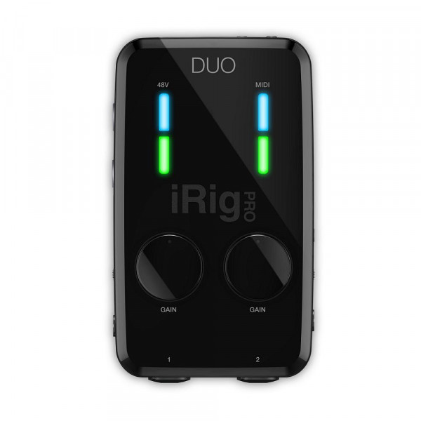 IK Multimedia iRig Pro DUO Interface for iPhone, iPad, Android and Mac/PC