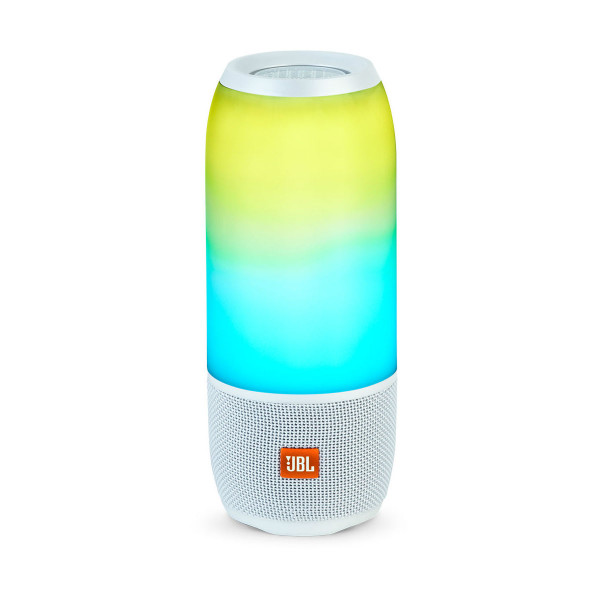 JBL Pulse 3 Bluetooth Speaker White