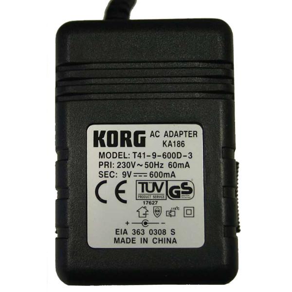 Korg KA186 9V Power Supply