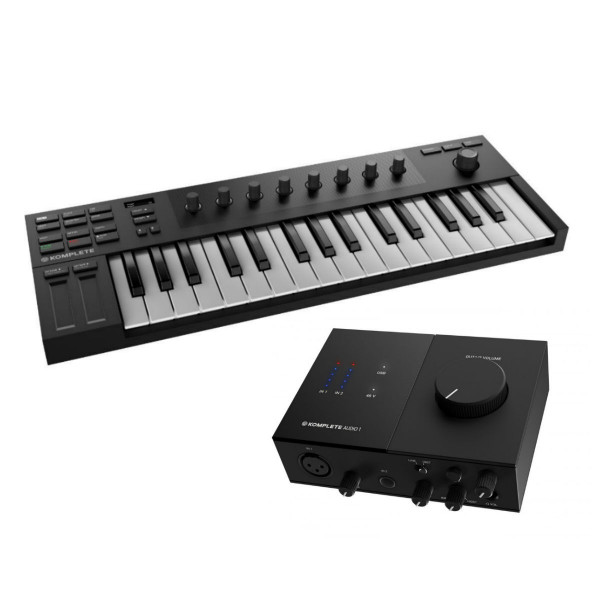 Native Instruments Komplete Kontrol M32 & Komplete Audio 1