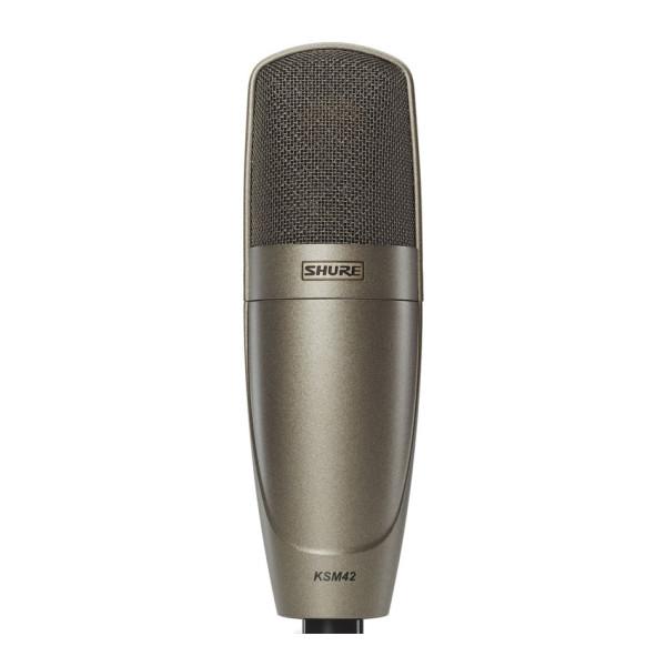 SHURE KSM42 Large Dual Diaphragm Cardioid Condenser Microphone