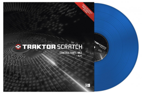 NATIVE INSTRUMENTS Traktor Scratch Vinyl - Blue