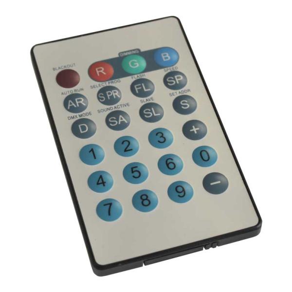 LEDJ IR Remote for Tri Fixtures (RGB) ( LEDJ90B )