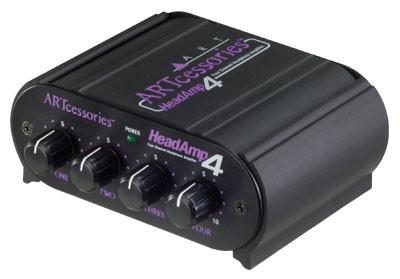 ART Headamp4 - 4 Channel Stereo Headphone Amplifier