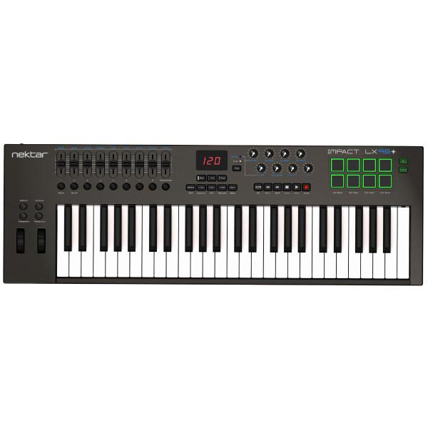 Nektar Impact LX49+ 49 Key USB MIDI Keyboard