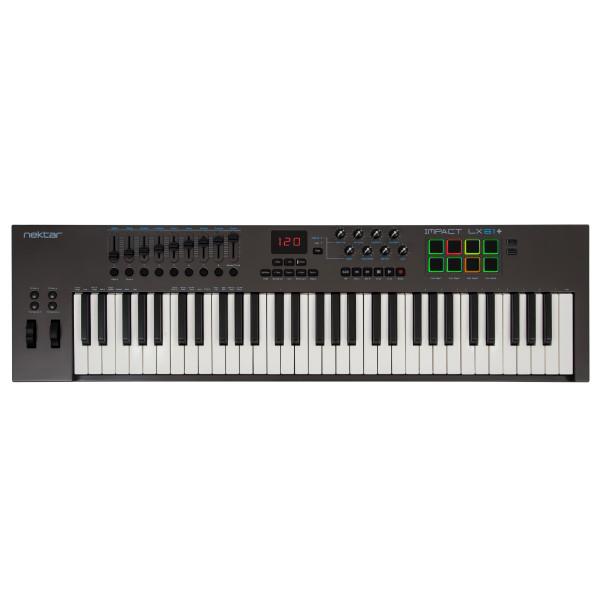 Nektar Impact LX61+ 61 Key USB MIDI Keyboard