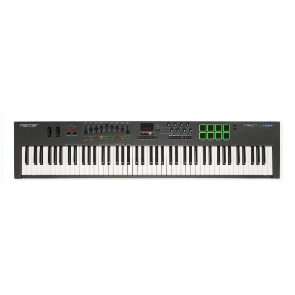 Nektar Impact LX88+ 88 Key USB MIDI Keyboard