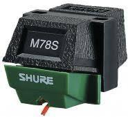 SHURE M78S Cartridge & Styli