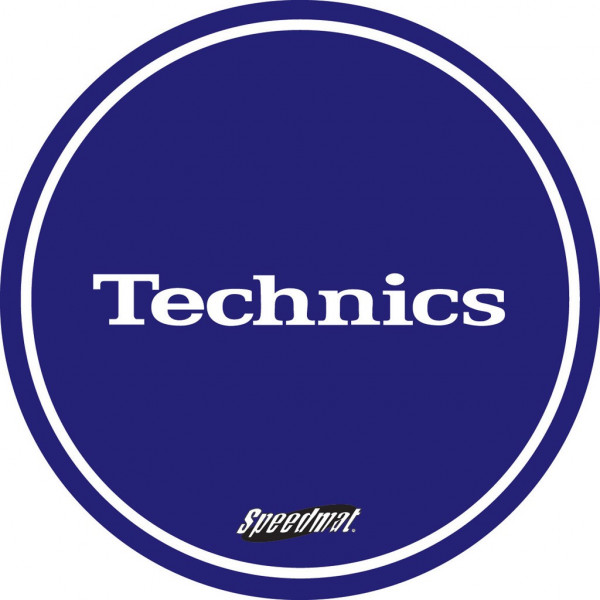 DMC Technics Speed Slipmats MBSPEED Pair Blue
