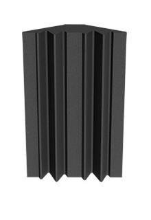 Universal Acoustics Mercury Bass Trap 600mm Charcoal (4 pack)