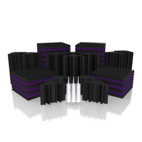Universal Acoustics Mercury 5 Room Kit Charcoal/Purple