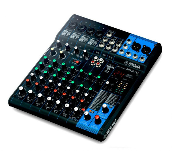 Yamaha MG10XU 10-Channel Mixer w/ SPX Effects & USB Audio Interface