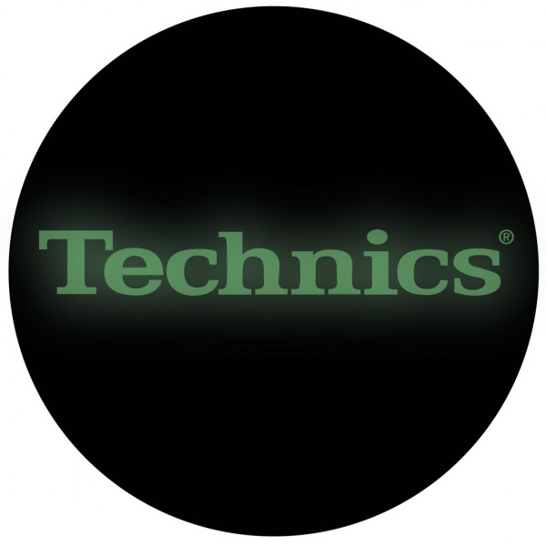 DMC Technics Glow in the Dark Slipmats MGLOW Pair