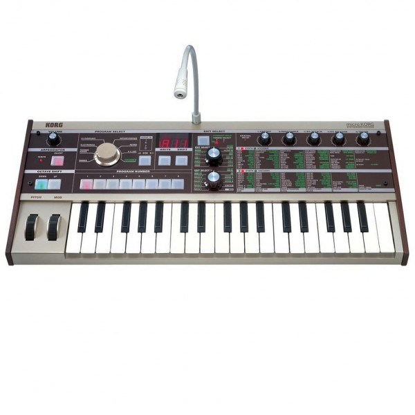 KORG microKORG 37 Key USB MIDI Controller