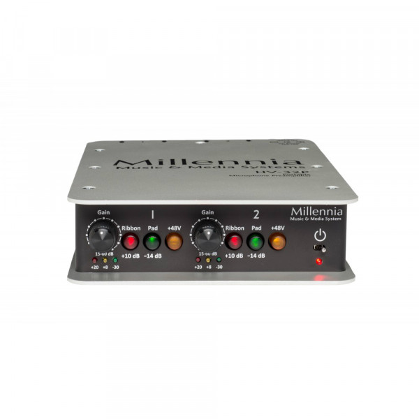 MILLENNIA HV32P Two Channel Portable Mic Preamp