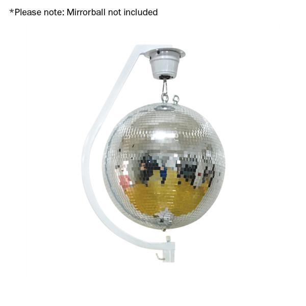 EQUINOX Curve Mirror Ball Hanging Bracket Up To 30Cm ( MIRR14 )