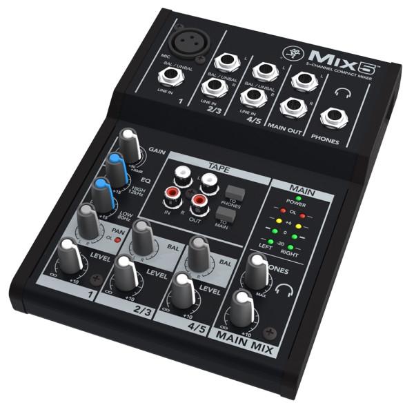MACKIE MIX5 Compact Analog Mixer