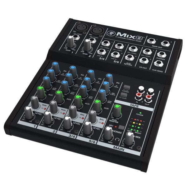 Mackie MIX8 Compact Analog Mixer
