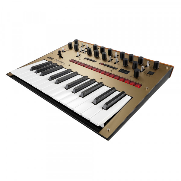 Korg Monologue Monophonic Analogue Synthesizer - Gold