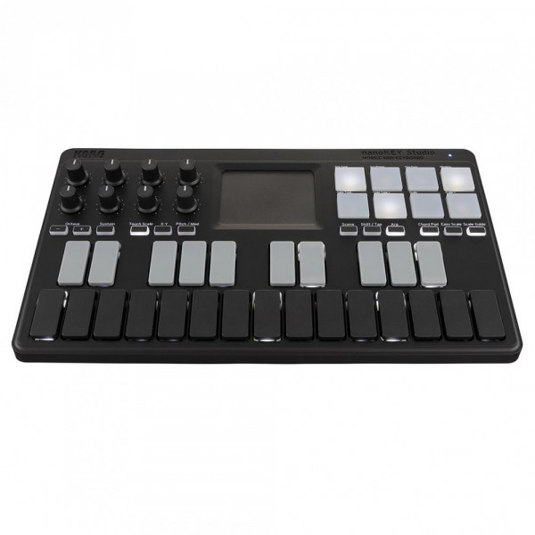 Korg nanoKEY Studio Mobile MIDI Keyboard Controller