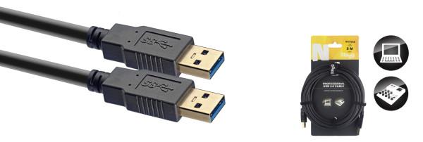 Stagg NCC3UAUB USB 2.0 Cable 1.5m