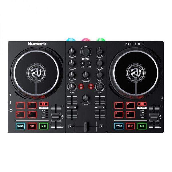 Numark Party Mix II 2-Channel DJ Controller