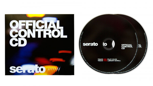 Serato Official Control CDs (1 Pair)