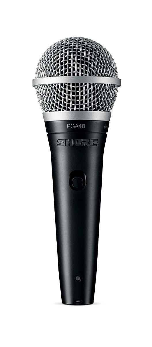 Shure PGA48-XLR Cardioid Dynamic Vocal Microphone