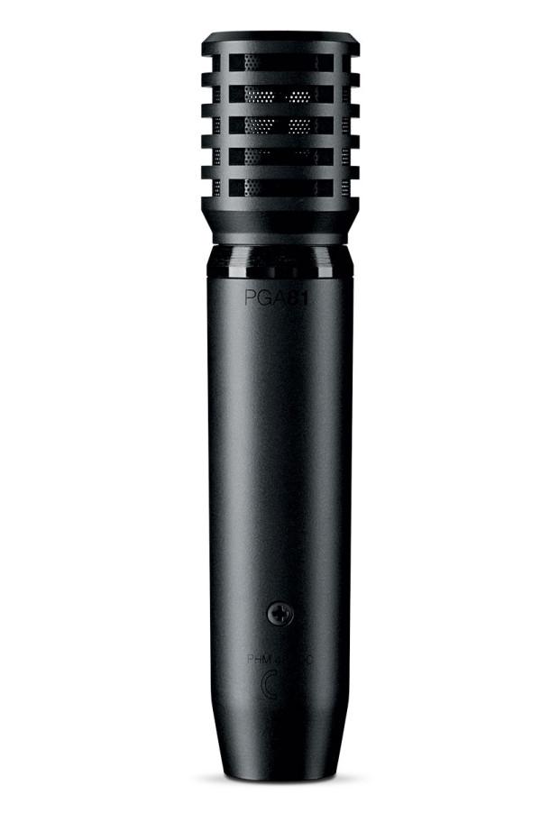 Shure PGA81-XLR Cardioid Condenser Instrument Microphone
