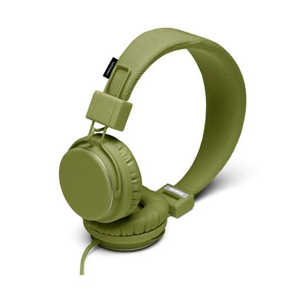 URBANEARS Plattan On Ear Headphone with Mic - Olive