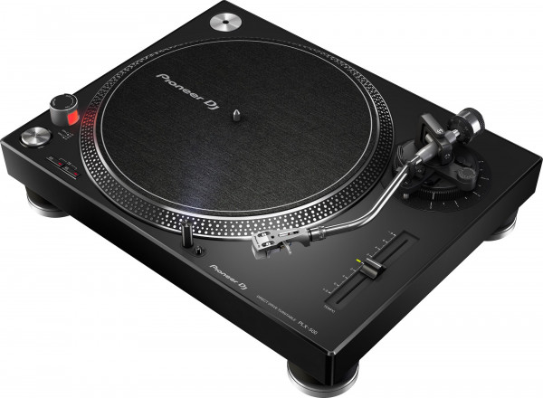Pioneer DJ PLX-500 direct drive DJ turntable with USB - Black