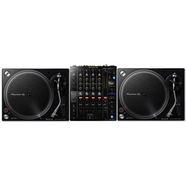 Pioneer DJ 2 x PLX500K + DJM750 MK2 Bundle