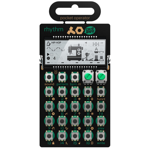 TEENAGE ENGINEERING PO-12 Rhythm drum synthesizer and sequencer