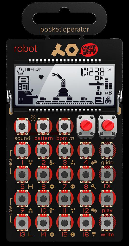 TEENAGE ENGINEERING PO-28 ROBOT Synthesizer and Sequencer