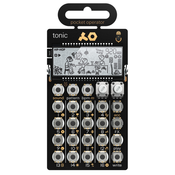Teenage Engineering PO-32-TONIC Drum Machine/Sequencer