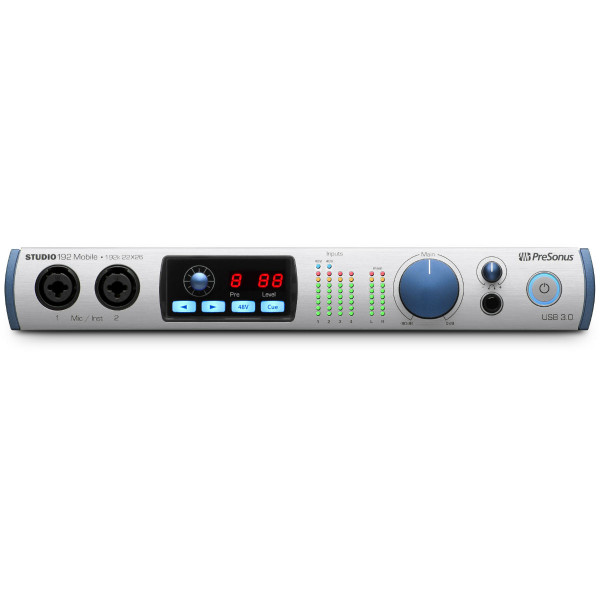 Presonus Studio 192 Mobile portable USB audio interface