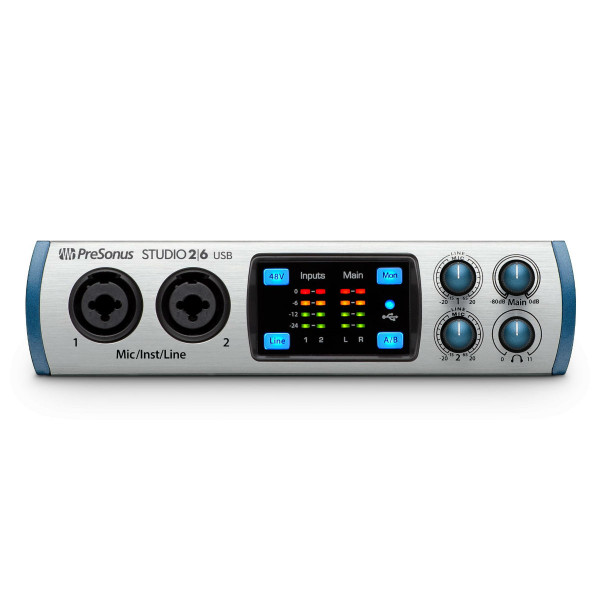 Presonus STUDIO26 USB 2.0 Recording Interface