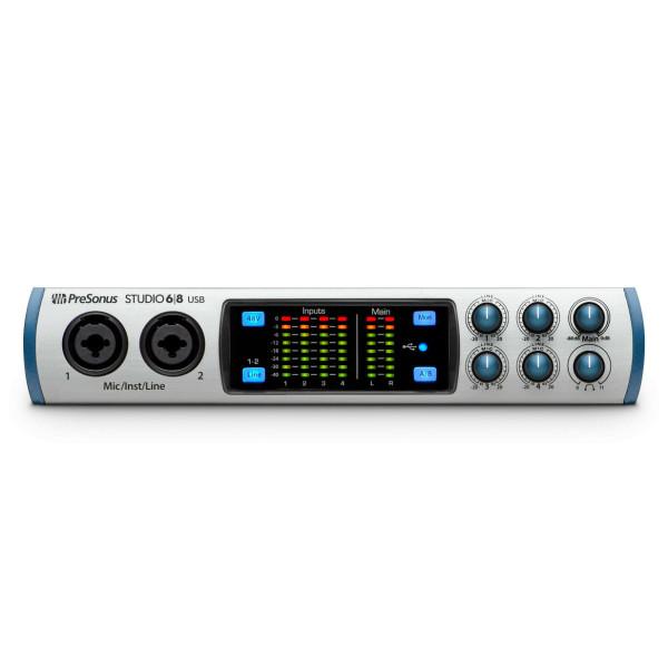 Presonus STUDIO68 USB 2.0 Recording Interface