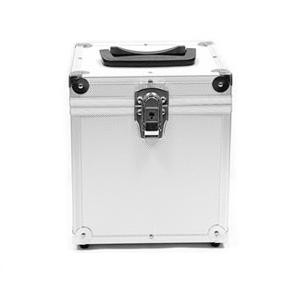 """DYNAMIC DESIGN Pro Box 45 Small 7"""" Record Case (Holds 50) - Silver"""