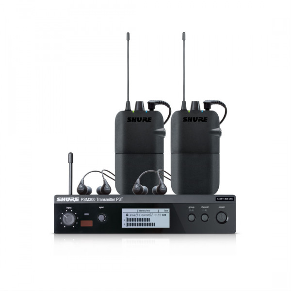 Shure PSM300 TwinPack In-Ear Monitoring System