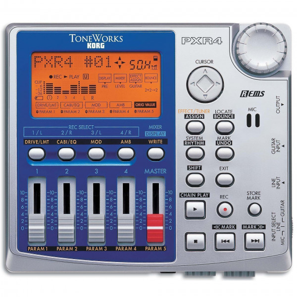 Korg PXR4 4 Track Digital Recorder
