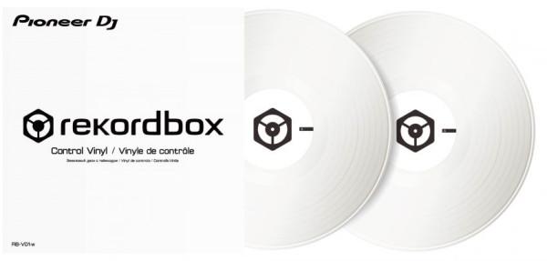 Pioneer DJ RB-VD1-CB RekordBox control vinyl - White -Pair