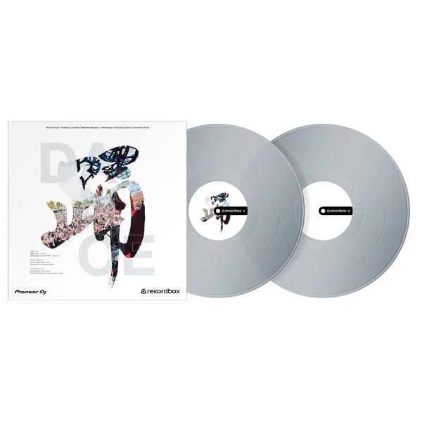 Pioneer DJ RB-VD2-CL Rekordbox Control Vinyl Clear - Pair