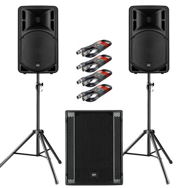 RCF ART 312-A MK4 PA Package with 1 x SUB 705-AS II