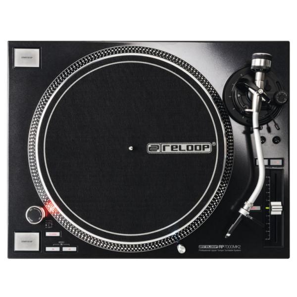 Reloop RP7000 MK2 Black Direct Drive DJ Turntable