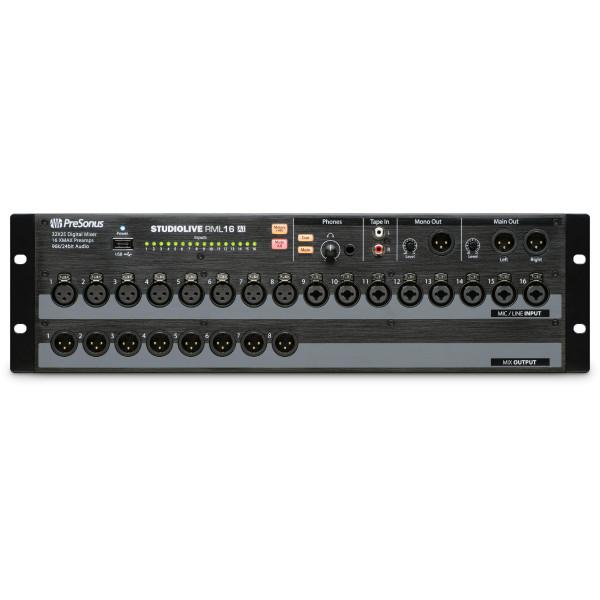 PRESONUS Studiolive RML16AI 16-Input Rack-Mount Digital Mixer