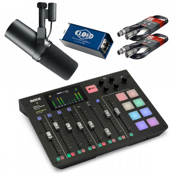 Rodecaster Pro Bundle with Shure SM7B + CL-1