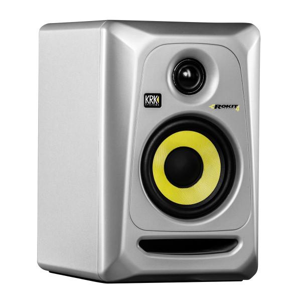 KRK ROKIT 4 G3 SILVER Active Studio Monitor