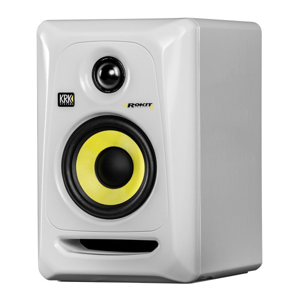 KRK ROKIT 4 G3 WHITE Active Studio Monitor